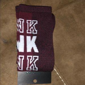 Brand New Pink Knee-High Socks♥️ (1 Pair)